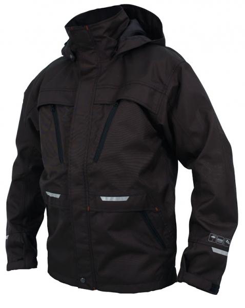 OCEAN-Abeko-Wetterschutz-Jacke, Rocky, 220g/m², schwarz