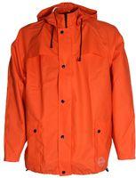 OCEAN-Abeko-PU-Regen-Nässe-Wetter-Schutz-Jacke, Stretch, orange