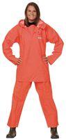 OCEAN-Regen-Fischer-Anzug, Jacke und Hose, 300 g/m², orange