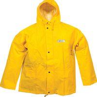 OCEAN-Regen-Nässe-Wetter-Schutz-Jacke, Budget, 460g/m², gelb