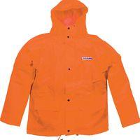OCEAN-Regen-Nässe-Wetter-Schutz-Jacke, Budget, 460g/m², orange