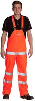 OCEAN-Komfort Light Warnschutz-Latzhose, High Vis,170g/m², orange