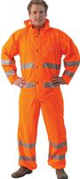 OCEAN-Warn-Schutz-Overall, Comfort Heavy, 220g/m², orange