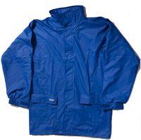 OCEAN-Regen-Nässe-Wetter-Schutz-Jacke, Comfort Stretch, 210g/m², königsblau