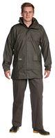OCEAN-Regen-Nässe-Wetter-Schutz-Jacke, Comfort Stretch, 210g/m², oliv