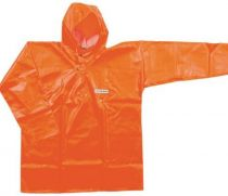 OCEAN-Regen-Nässe-Wetter-Schutz-Jacke, Fischerbluse, Off shore, 325g/m², orange