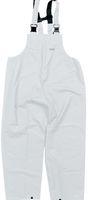 OCEAN-Regen-Nässe-Wetter-Schutz-Latzhose, Comfort Heavy, 220g/m², weiß