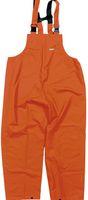 OCEAN-Regen-Nässe-Wetter-Schutz-Latzhose, Comfort Heavy, 220g/m², orange