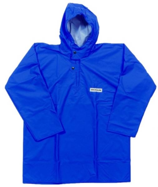 OCEAN-Regen-Nässe-Wetter-Schutz-Jacke, Fischerbluse, Comfort Heavy,220g/m², königsblau
