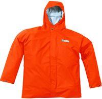 OCEAN-Regen-Nässe-Wetter-Schutz-Jacke, Comfort Heavy, 220g/m², orange