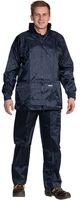 OCEAN-Regen-Schutz-Anzug, Jacke mit Reißverschluss, Hose mit Gummizug, marine
