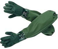 OCEAN-Ärmel-Handschuhe, Regen-Nässe-Schutz, oliv,