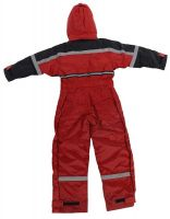 OCEAN-Junior-Thermo-Arbeits-Berufs-Overall, rot