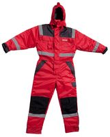 OCEAN-Thermo-Arbeits-Berufs-Overall, Work Wear, rot/schwarz