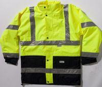 OCEAN-Abeko-Warn-Schutz-Jacke, 80cm, fl.gelb/schwarz
