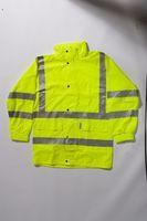 OCEAN-Abeko-Warn-Schutz-Jacke, 100cm, fl.gelb