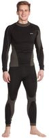 OCEAN-Workwear-Unterhose, lang, schwarz