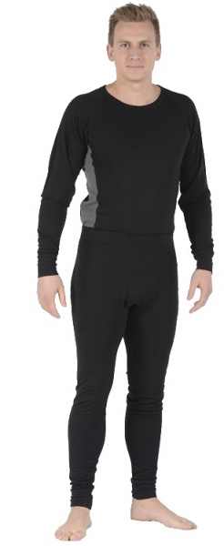 OCEAN-Thor Lenzing, FR/AST Unterhemd, langarm, schwarz