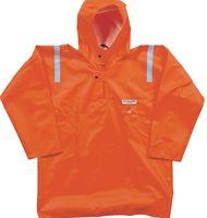 OCEAN-Regen-Nässe-Wetter-Schutz-Jacke, Fischerbluse, 540g/m², orange