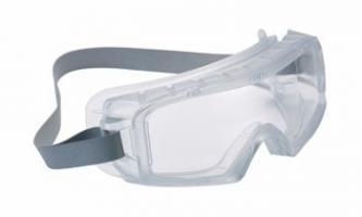BOLLE-PSA-Augenschutz, Augen-Vollsicht-Schutz-Brille, COVACLEAN, PVC Gestell, für Reinräume