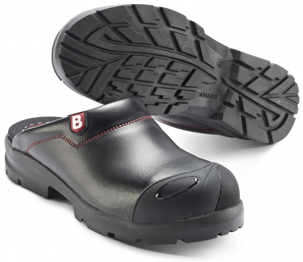 SIKA-SB Clogs, Flex Fit, schwarz