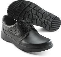 SIKA-O1 Arbeits-Berufs-Schuhe, Schnür-Halbschuhe, OPTIMAX, schwarz