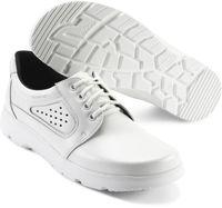 SIKA-O1 Arbeits-Berufs-Schuhe, Schnür-Halbschuhe, OPTIMAX, weiss