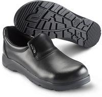 SIKA-S2 Sicherheits-Arbeits-Berufs-Slipper, OPTIMAX, schwarz