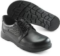 SIKA-S1 Sicherheits-Arbeits-Berufs-Schuhe, Schnür-Halbschuhe, OPTIMAX, schwarz