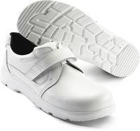 SIKA-S2 Sicherheits-Arbeits-Berufs-Schuhe, Halbschuhe, mit Klettverschluss, OPTIMAX, weiss