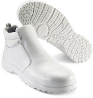 SIKA-S2-Sicherheits-Arbeits-Berufs-Schuhe, Hochschuhe, FUSION, mit Reißverschluss, weiss