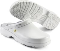 SIKA-OB ESD-Arbeits-Berufs-Clogs, FUSION CLOG, offene Ferse, weiss