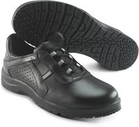 SIKA-O1 Arbeits-Berufs-Schuhe, Schnür-Halbschuhe, FUSION, schwarz