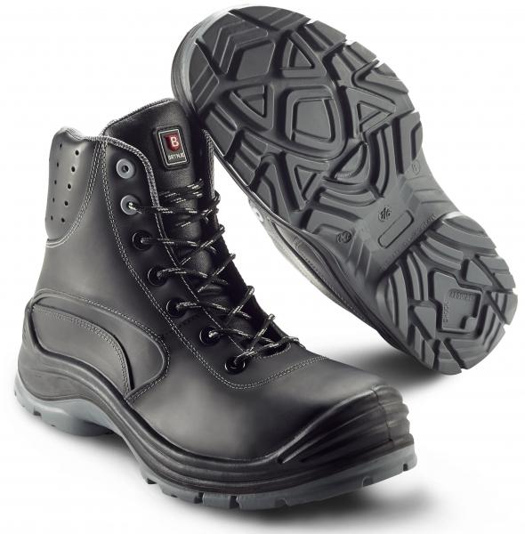 SIKA-S3 Sicherheitsstiefel,Force Ankle Boot, schwarz