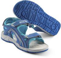 SIKA-OB Damen-Arbeits-Berufs-Sandalen, MOTION LADY, blau