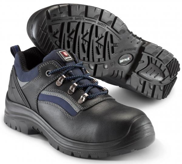 SIKA-S3 Sicherheitsschuhe,Strike Lace Shoe, schwarz