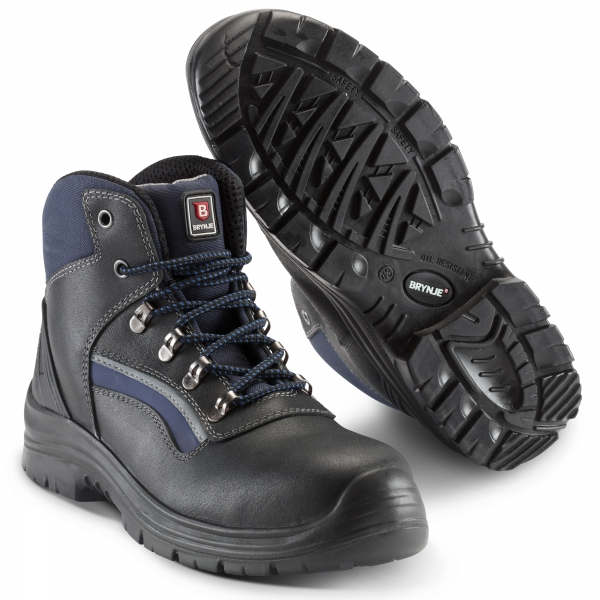 SIKA-S3 Sicherheitsstiefel,Strike Low Boot, schwarz