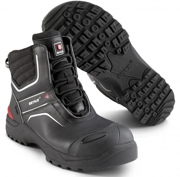 SIKA-S3 Sicherheitsstiefel, B-Dry Ankle Boot, schwarz