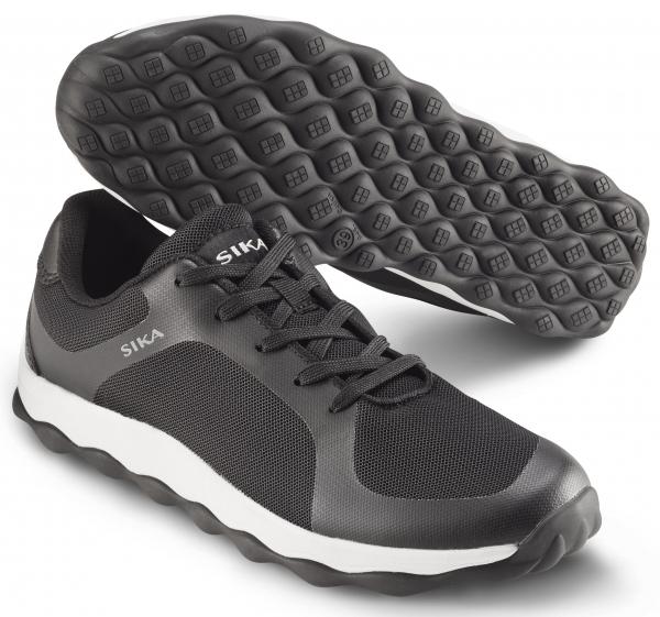 SIKA-O1 Schnürschuhe,Move, schwarz/weiß