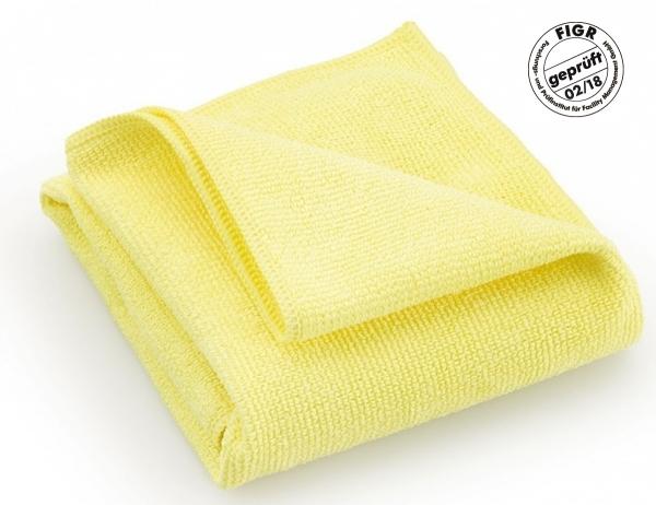 MEGA CLEAN-Microfaser-Putz-Tücher, Mikrofaser-Tücher, Hochleistungs-Tuch Platin, gelb