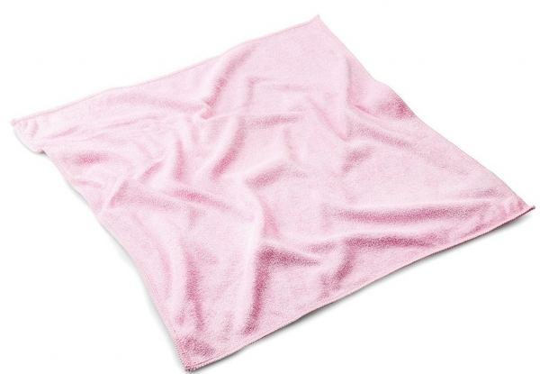 MEGA CLEAN-Microfaser-Putz-Tücher, Mikrofaser-Tuch Micro-Stretch Light, rosa