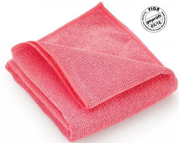 MEGA CLEAN-Microfaser-Putz-Tücher, Mikrofaser-Tuch, Hochleistungs-Tuch Platin, rosa
