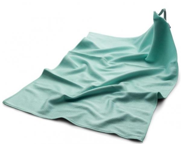 MEGA CLEAN Mikrofaser-Tücher, Microfaser-Polier- und Geschirr-Tuch, grün