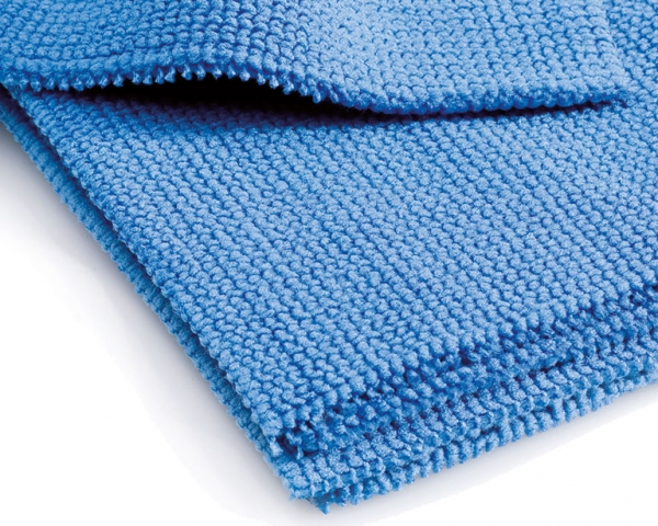 MEGA CLEAN-Microfaser-Putz-Tücher, Mikrofasertuch, Profi Pflegetuch, blau