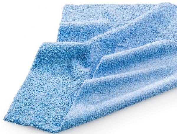 MEGA CLEAN-Microfaser-Putz-Tücher, Mikrofaser-Tücher, Staub- und Polier-Tuch, blau