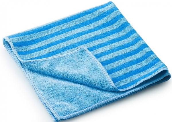 MEGA CLEAN-Microfaser-Putz-Tücher, Mikrofaser-Tücher, Borsten-Tuch, blau