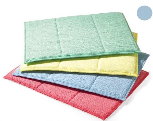 MEGA CLEAN-Microfaser-Putz-Tücher, Mikrofaser-Tuch, Schwamm-Tuch, blau