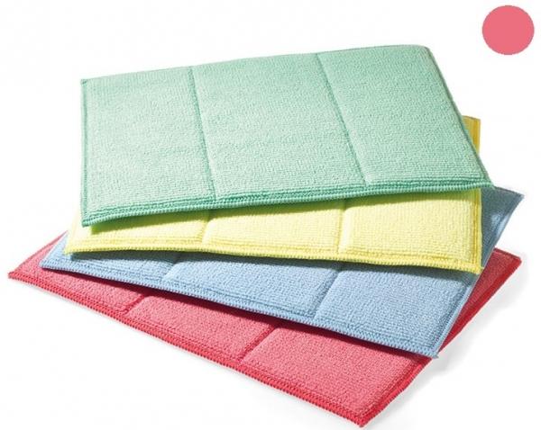 MEGA CLEAN-Microfaser-Putz-Tücher, Mikrofaser-Tuch, Schwamm-Tuch, rosa