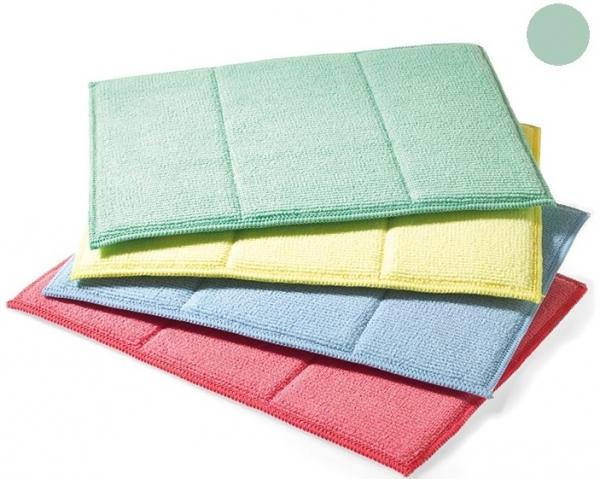 MEGA CLEAN-Microfaser-Putz-Tücher, Mikrofaser-Tuch, Schwammtuch, grün
