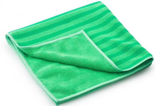 MEGA CLEAN-Microfaser-Putz-Tücher, Mikrofaser-Tuch, Borstentuch, grün